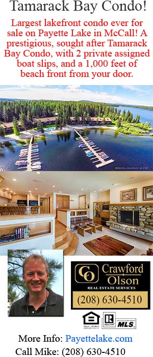 Waterfront Property in McCall, Idaho For Sale
